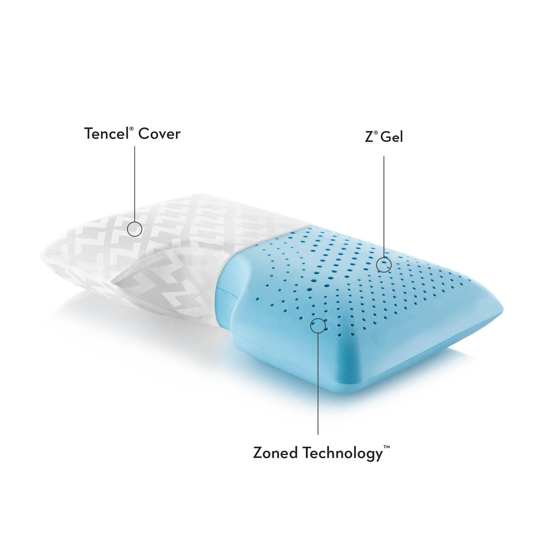 Shoulder Zoned Gel Dough Memory Foam Premium Pillow